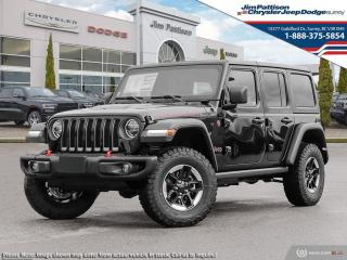 New 2021 Jeep Wrangler Unlimited Rubicon for sale in Surrey, BC