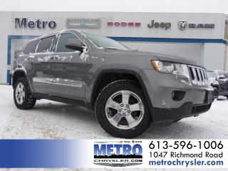 Used 2012 Jeep Grand Cherokee LAREDO 4x4 for sale in Ottawa, ON