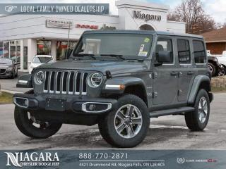 New 2021 Jeep Wrangler Unlimited Sahara for sale in Niagara Falls, ON