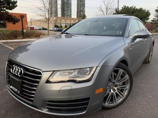 Used 2014 Audi A7 3.0T Progressiv S LINE NIVIGATION HEATED STEERING for sale in Concord, ON