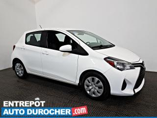 Used 2016 Toyota Yaris LE AIR CLIMATISÉ - Groupe Électrique for sale in Laval, QC