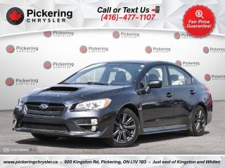 Used 2017 Subaru WRX Sport - REAR CAM/HEATED SEATS/WINTER PKG/BLUETOOTH for sale in Pickering, ON