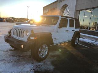 New 2021 Jeep Wrangler Unlimited Sport S for sale in Slave Lake, AB