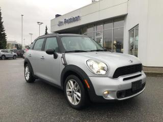 Used 2012 MINI Cooper Countryman S Base (M6) for sale in North Vancouver, BC