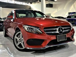 Used 2017 Mercedes-Benz C-Class C300|EYE BIRD VIEW|PANORAMIC|NAVI|MEMORY SEATS| AMG PKG! for sale in Brampton, ON