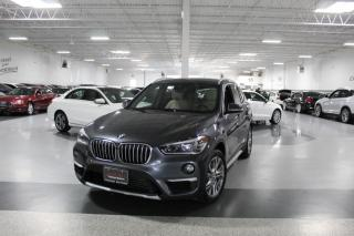 Used 2017 BMW X1 XDRIVE28i I NAVIGATION I PANOROOF I REAR CAM I HEATED SEATS for sale in Mississauga, ON