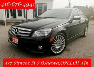 Used 2009 Mercedes-Benz C-Class 4dr Sdn 2.5L 4MATIC for sale in Oshawa, ON