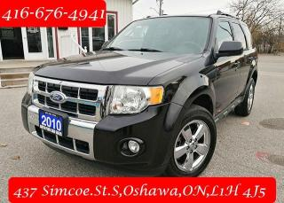 Used 2010 Ford Escape 4WD 4dr V6 Auto Limited for sale in Oshawa, ON