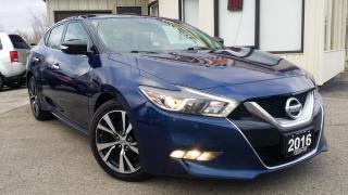 Used 2016 Nissan Maxima 3.5 SV - LEATHER! NAV! BACK-UP CAM! REMOTE START! for sale in Kitchener, ON