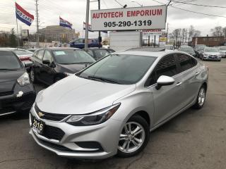 Used 2016 Chevrolet Cruze LT Sunroof/Navigation/Alloys/Heated Seats for sale in Mississauga, ON