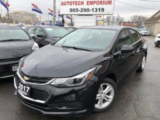 Used 2017 Chevrolet Cruze LT 6Sp Navigation/Camera/Alloys/Heated Seats for sale in Mississauga, ON