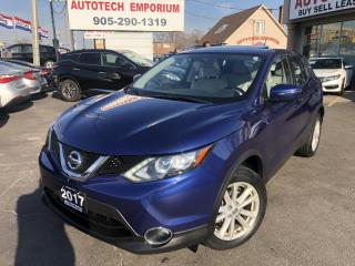 Used 2017 Nissan Qashqai SV Camera/Heated Seats/Sunroof/Alloys&GPS* for sale in Mississauga, ON