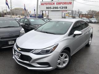Used 2017 Chevrolet Cruze LT Navigation/Remote Start/Heated Seats/Alloys for sale in Mississauga, ON