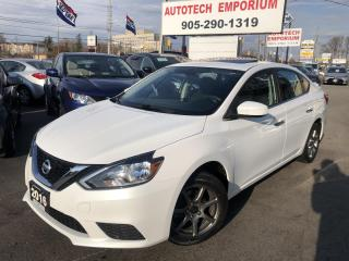 Used 2016 Nissan Sentra SV Prl White SUNROOF Alloys/Sunroof/Heated Seats for sale in Mississauga, ON