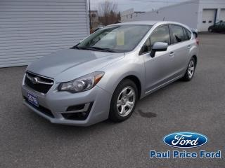 Used 2016 Subaru Impreza Fastback AWD for sale in Bancroft, ON