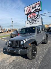 Used 2016 Jeep Wrangler Unlimited Sport 4WD for sale in Windsor, ON