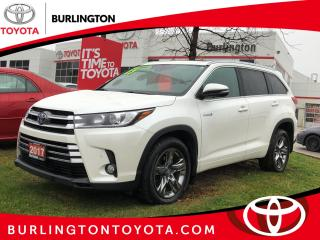 Used 2017 Toyota Highlander Hybrid Limited for sale in Burlington, ON