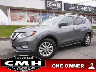 Used 2018 Nissan Rogue AWD SV  AWD CAM BT P/SEAT HTD-SEATS 17-AL for sale in St. Catharines, ON