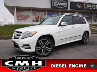 Used 2015 Mercedes-Benz GLK-Class GLK 250 BlueTEC 4MATIC  AWD NAV CAM ROOF for sale in St. Catharines, ON