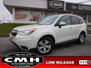 Used 2015 Subaru Forester 2.5i Touring  CAM ROOF HTD-SEATS P/GATE for sale in St. Catharines, ON