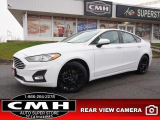 Used 2019 Ford Fusion SE  CAM LANE-KEEP BLIND-SPOT HTD-SEATS P/SEATS for sale in St. Catharines, ON