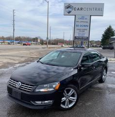 Used 2013 Volkswagen Passat 2.0L TDI HIGHLINE | DIESEL | BACKUP CAMERA | NAVI | REMOTE START | for sale in Barrie, ON