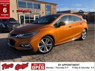 Used 2017 Chevrolet Cruze Premier True North | RS  | Nav | Leather | Sunroof for sale in St Catharines, ON