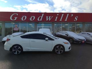 Used 2015 Honda Civic COUPE SI! HEATED SEATS! NAV! CAM! BLUETOOTH! SUNROOF! for sale in Aylmer, ON