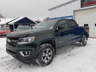 Used 2016 Chevrolet Colorado Z71 cabine multiplace 128,3 po 4RM for sale in St-Pierre-Les-Becquets, QC
