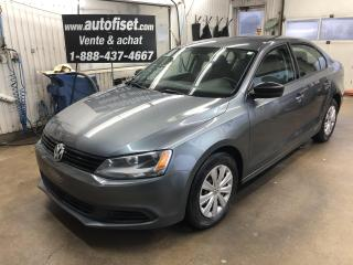 Used 2013 Volkswagen Jetta 4dr 2.0L Auto Trendline+ $40.95/sem.+taxes for sale in St-Raymond, QC