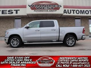 Used 2019 Dodge Ram 1500 LARAMIE LEVEL 2, SAFETY GRP, PAN ROOF, ALL OPTIONS for sale in Headingley, MB