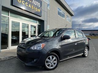 Used 2014 Mitsubishi Mirage 4dr HB CVT SE for sale in St-Georges, QC