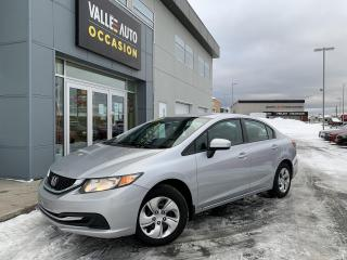 Used 2015 Honda Civic 4dr Auto LX for sale in St-Georges, QC