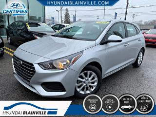 Used 2019 Hyundai Accent PREFERRED APPLE CARPLAY, CAMÉRA DE RECUL for sale in Blainville, QC