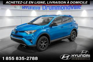 Used 2018 Toyota RAV4 SE HYBRID + GARANTIE + NAVI + TOIT + WOW for sale in Drummondville, QC