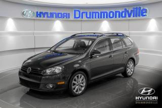 Used 2014 Volkswagen Golf Wagon HIGHLINE + GARANTIE + TOIT PANO + WOW for sale in Drummondville, QC