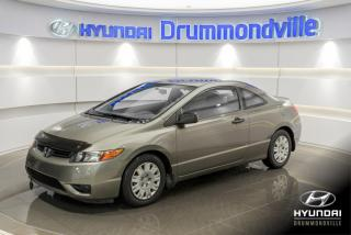 Used 2008 Honda Civic FIABLE + A/C + MAGS + CRUISE + WOW !! for sale in Drummondville, QC