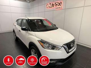 Used 2018 Nissan Kicks S - BLUETOOTH - CAMERA DE RECUL - BOUTON POUSSOIR for sale in Québec, QC