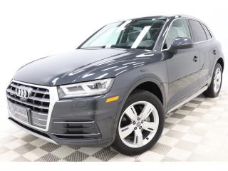 Used 2018 Audi Q5 TECHNIK *VIRTUAL-COCKPIT *BANG-&-O *DRIVER-ASSIST for sale in St-Hubert, QC