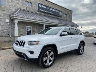 Used 2014 Jeep Grand Cherokee 4 RM, 4 portes, Limited for sale in St-Eustache, QC