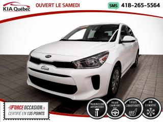 Used 2020 Kia Rio LX+* 5 PORTES* AT* A/C* SIEGES CHAUFFANT for sale in Québec, QC
