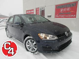 Used 2017 Volkswagen Golf 1.8 TSI TRENDLINE MAGS CAM/RECUL for sale in St-Jérôme, QC
