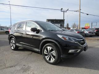 Used 2016 Honda CR-V AWD Touring NAVIGATION CAMERA CUIR TOIT MAGS 18 for sale in St-Eustache, QC