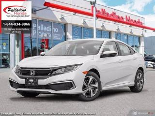 Used 2019 Honda Civic Sedan LX - HEATED SEATS LANE KEEP ASSIST ADAPTIVE CRUISE CONTROL - for sale in Sudbury, ON