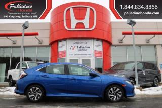 Used 2018 Honda Civic Hatchback LX - BACK UP CAMERA HEATED SEATS - for sale in Sudbury, ON