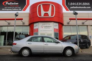 Used 2004 Honda Accord Sdn LX-G - SELF CERTIFY - for sale in Sudbury, ON