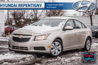 Used 2014 Chevrolet Cruze 1LT 4 PORTES**A/C, BLUETOOTH** for sale in Repentigny, QC