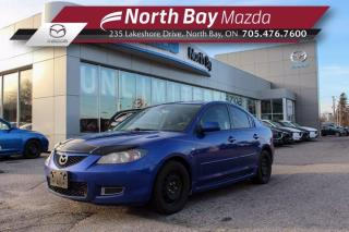 Used 2009 Mazda MAZDA3 GX Self Certify - Click Here! Test Drive Appts Available! for sale in North Bay, ON