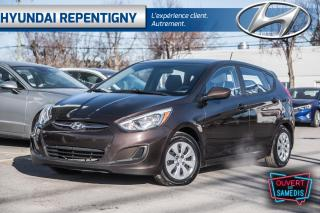 Used 2015 Hyundai Accent GL 5 PORTES**A/C, BLUETOOTH, SIEGE CHAUFFANTS** for sale in Repentigny, QC