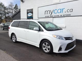 Used 2019 Toyota Sienna LE 8-Passenger HEATED SEATS, BACKUP CAM, ALLOYS, BLUETOOTH!! for sale in Kingston, ON